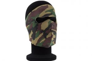 Masque neoprene integral type camouflage