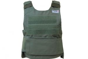 Gilet type pare-balles od green