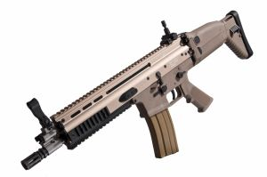 SCAR-L Open Bolt CQC GBBR WE Tan