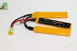Batterie LIPO 11.1/1100 3 sticks
