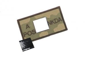 Patch sanguin NKDA A positif woodland