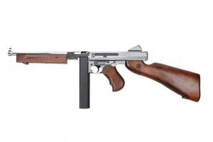Thompson m1a1 military Silver KING ARMS