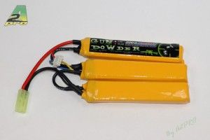 Batterie LIPO 11.1/2200 3 sticks