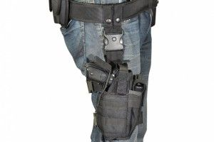 Holster de cuisse universel droitier swiss arms