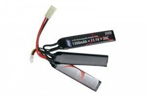 Batterie LIPO 11.1/1300 3 sticks ASG
