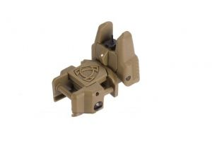 Front sight flip-up Rhino APS tan
