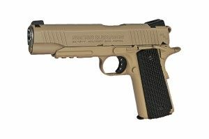 SA 1911 Military Rail Pistol 4.5  mm desert