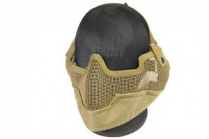 Masque strike metal mesh sand