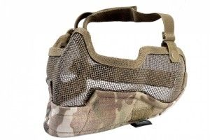 Masque strike metal mesh multicam