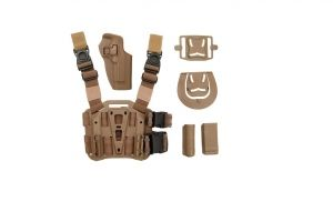 Holster droitier USP thermo moule a retention tan