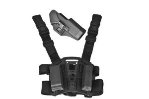 Holster droitier P226 thermo moule a retention noir