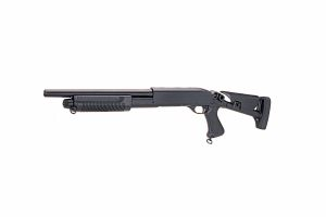 fusil a pompe metal Swiss Arms multi shots (3 coups) crosse retractable