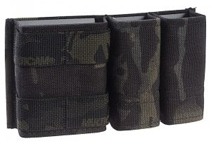 KYWI Pouch 5.56/9mm 1+2 Side BY Side ESSTAC multicam black