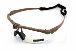 Lunettes Battle Pro Thermal Tan/Clear Nuprol