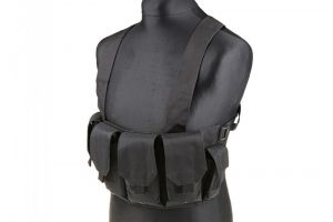 Tactical chest vest NOIR