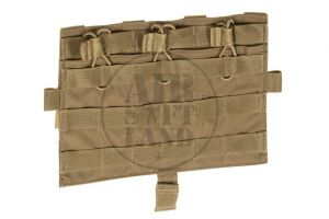 Molle front flap M4 Coyote Brown AVS / JPC