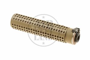 Silencieux KAC QD Tan 168mm (CCW) Pirate Arms