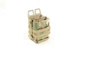 Porte chargeur fast mag 5.56 multicam x2
