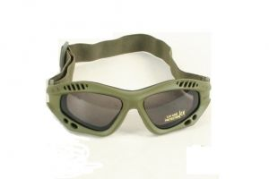 lunette tactical goggle green
