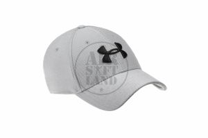 Casquette Under Armour Heathered Blitzing 3.0 steel (L/XL)