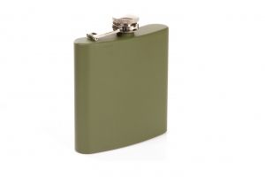 pocket flask olive