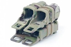 Porte chargeur fast mag 5.56/9 mm multicam