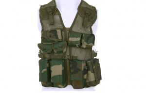 gilet tactique woodland enfant