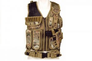 Gilet tactique multicam