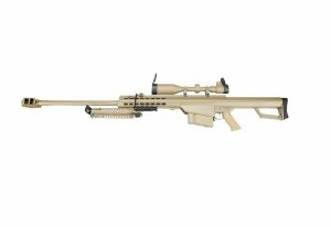 Barrett M82A1 snow wolf aeg full metal tan