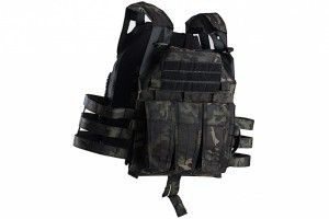 Plate carrier Gen2 JIM Multicam Black