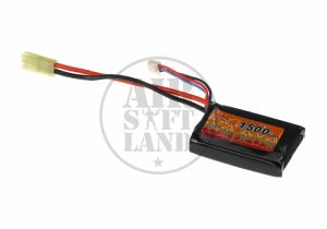 Batterie LIPO 7.4/1500 mAh PEQ type mini Tamiya