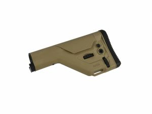 Crosse USKR ajustable pour tube de crosse M4 tan