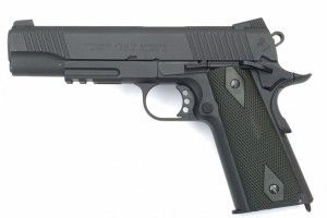 Colt 1911 Rail Gun blackned edition
