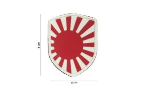 Patch 3D PVC Japan War