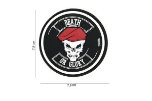 Patch 3D PVC Death or Glory