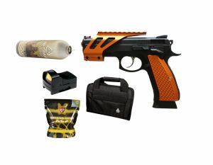 Pack CZ SP-01 Shadow Orange Optic Ready