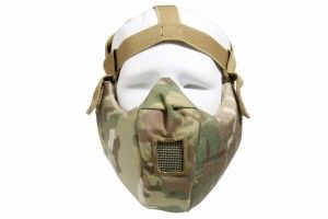 demi masque de protection multicam