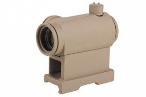 Red Dot T1 QD Mount tan