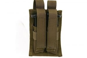 Double 9mm Magazine Pouch Cordura coyote Pantac