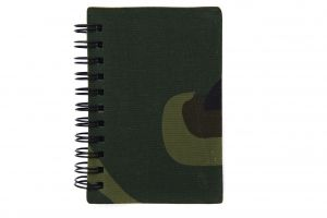 Carnet waterproof woodland a7