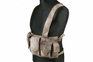 Tactical chest vest a-tacs au