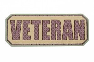 patch veteran pvc camo