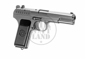 TT-33 Full Metal silver GBB WE