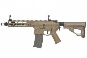M4 SBR EMG SB7 hellbreaker dark earth