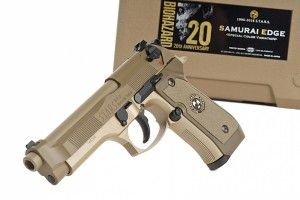 Biohazard 20th Anniversary Samurai Edge Special Tan Color Limited Edition Tokyo Marui GBB