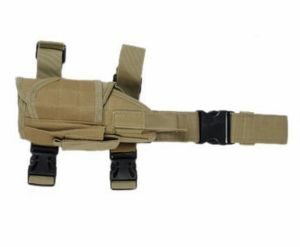 Holster de cuisse nylon tan