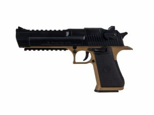 Desert Eagle .50ae railed spring tan / noir