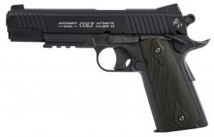 Colt 1911 Rail Gun blackened co²