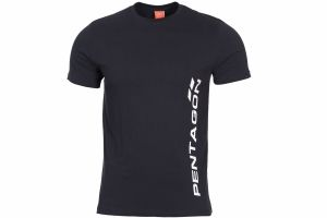 T-Shirt Pentagon VERTICAL noir