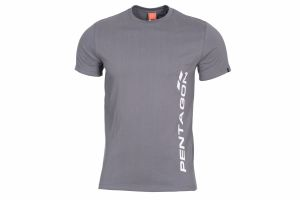 T-Shirt Pentagon VERTICAL wolf grey